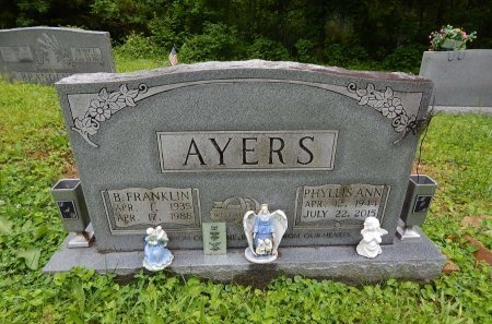 AYERS, BENJIMAN FRANKLIN - Campbell County, Tennessee | BENJIMAN FRANKLIN AYERS - Tennessee Gravestone Photos