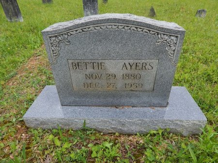 AYERS, BETTIE - Campbell County, Tennessee | BETTIE AYERS - Tennessee Gravestone Photos