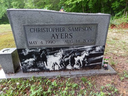 AYERS, CHRISTOPHER SAMPSON - Campbell County, Tennessee | CHRISTOPHER SAMPSON AYERS - Tennessee Gravestone Photos