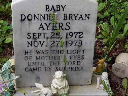 AYERS, DONNIE BRYAN - Campbell County, Tennessee   DONNIE BRYAN AYERS - Tennessee Gravestone Photos