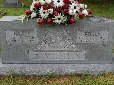 AYERS, HATTIE - Campbell County, Tennessee | HATTIE AYERS - Tennessee Gravestone Photos