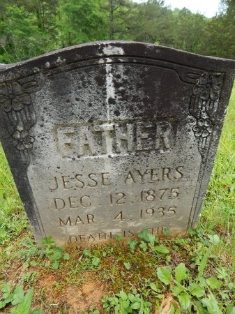 AYERS, JESSE - Campbell County, Tennessee | JESSE AYERS - Tennessee Gravestone Photos