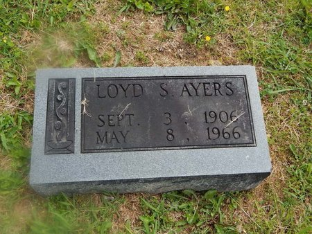 AYERS, LOYD S - Campbell County, Tennessee | LOYD S AYERS - Tennessee Gravestone Photos