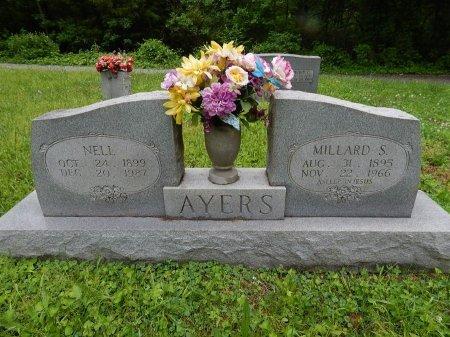 AYERS, MILLARD S - Campbell County, Tennessee   MILLARD S AYERS - Tennessee Gravestone Photos