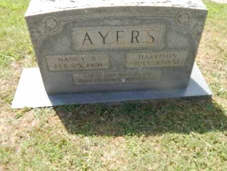 AYERS, NANCY B - Campbell County, Tennessee | NANCY B AYERS - Tennessee Gravestone Photos