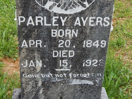 AYERS, PARLEY - Campbell County, Tennessee   PARLEY AYERS - Tennessee Gravestone Photos