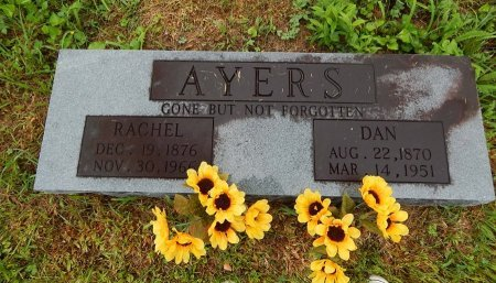 AYERS, RACHEL - Campbell County, Tennessee | RACHEL AYERS - Tennessee Gravestone Photos