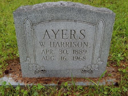 AYERS, W HARRISON - Campbell County, Tennessee | W HARRISON AYERS - Tennessee Gravestone Photos