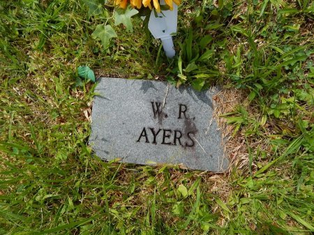 AYERS, W R - Campbell County, Tennessee | W R AYERS - Tennessee Gravestone Photos