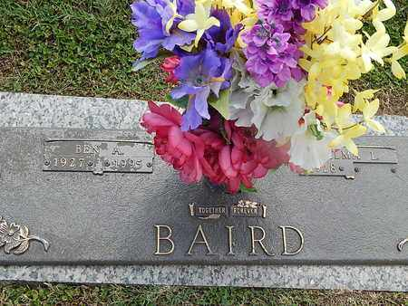 BAIRD, BEN A - Campbell County, Tennessee | BEN A BAIRD - Tennessee Gravestone Photos