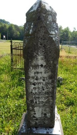 BOWLING, INFANT - Campbell County, Tennessee | INFANT BOWLING - Tennessee Gravestone Photos