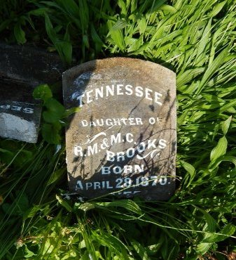 BROOKS, TENNESSEE - Campbell County, Tennessee | TENNESSEE BROOKS - Tennessee Gravestone Photos