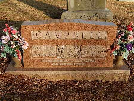 CAMPBELL, GEORGE A - Campbell County, Tennessee | GEORGE A CAMPBELL - Tennessee Gravestone Photos