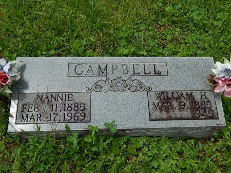 CAMPBELL, WILLIAM H - Campbell County, Tennessee | WILLIAM H CAMPBELL - Tennessee Gravestone Photos