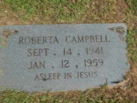 CAMPBELL, ROBERTA - Campbell County, Tennessee   ROBERTA CAMPBELL - Tennessee Gravestone Photos