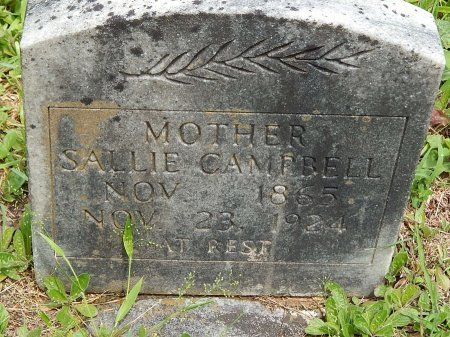 CAMPBELL, SALLIE - Campbell County, Tennessee | SALLIE CAMPBELL - Tennessee Gravestone Photos