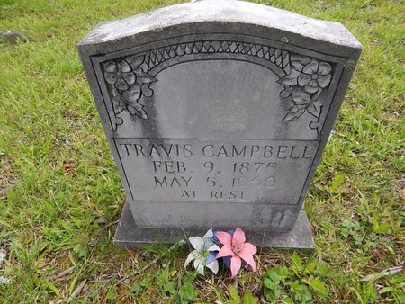 CAMPBELL, TRAVIS - Campbell County, Tennessee | TRAVIS CAMPBELL - Tennessee Gravestone Photos