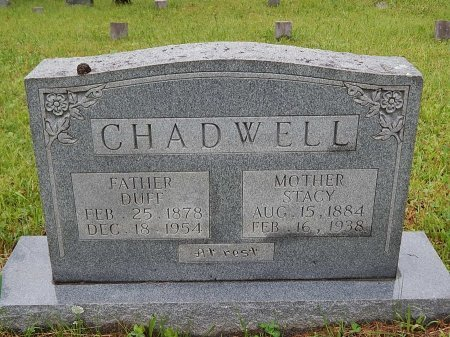 CHADWELL, DUFF - Campbell County, Tennessee | DUFF CHADWELL - Tennessee Gravestone Photos