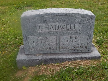 CHADWELL, R D - Campbell County, Tennessee | R D CHADWELL - Tennessee Gravestone Photos