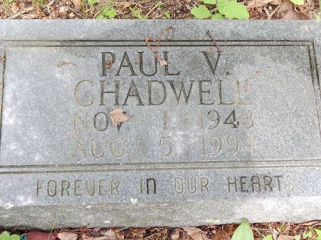 CHADWELL, PAUL V - Campbell County, Tennessee | PAUL V CHADWELL - Tennessee Gravestone Photos
