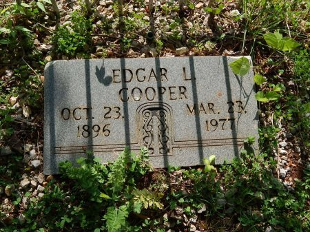 COOPER, EDGAR L - Campbell County, Tennessee | EDGAR L COOPER - Tennessee Gravestone Photos