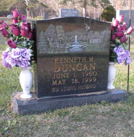 DUNCAN, KENNETH M - Campbell County, Tennessee | KENNETH M DUNCAN - Tennessee Gravestone Photos