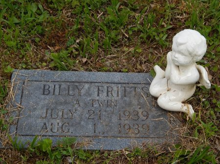 FRITTS, BILLY - Campbell County, Tennessee | BILLY FRITTS - Tennessee Gravestone Photos