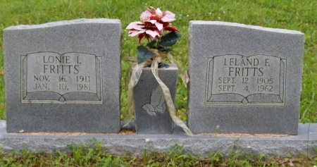 FRITTS, LELAND F - Campbell County, Tennessee   LELAND F FRITTS - Tennessee Gravestone Photos