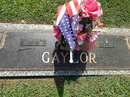 GAYLOR, DELMUS - Campbell County, Tennessee | DELMUS GAYLOR - Tennessee Gravestone Photos