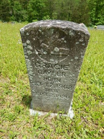 GAYLOR, GRACIE - Campbell County, Tennessee | GRACIE GAYLOR - Tennessee Gravestone Photos