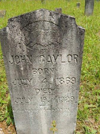 GAYLOR, JOHN - Campbell County, Tennessee | JOHN GAYLOR - Tennessee Gravestone Photos