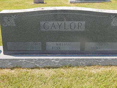 GAYLOR, WILLIAM - Campbell County, Tennessee | WILLIAM GAYLOR - Tennessee Gravestone Photos