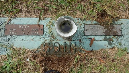 GOINS, ETTA AND WILLIAM - Campbell County, Tennessee | ETTA AND WILLIAM GOINS - Tennessee Gravestone Photos