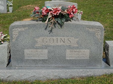 GOINS, DENNIS L - Campbell County, Tennessee | DENNIS L GOINS - Tennessee Gravestone Photos