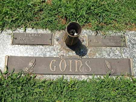GOINS, L GRACE - Campbell County, Tennessee | L GRACE GOINS - Tennessee Gravestone Photos