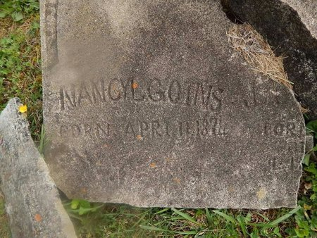 GOINS, NANCY JANE - Campbell County, Tennessee | NANCY JANE GOINS - Tennessee Gravestone Photos