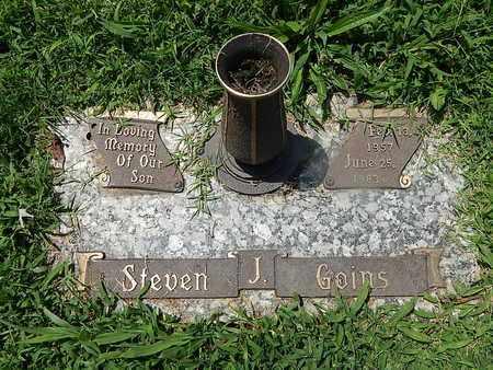 GOINS, STEVEN J - Campbell County, Tennessee | STEVEN J GOINS - Tennessee Gravestone Photos