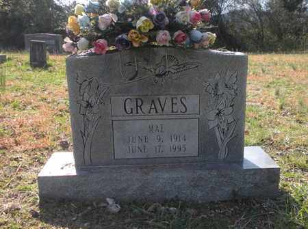 GRAVES, MAE - Campbell County, Tennessee | MAE GRAVES - Tennessee Gravestone Photos