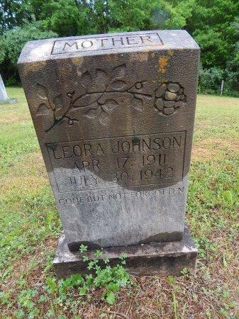 JOHNSON, LEORA - Campbell County, Tennessee | LEORA JOHNSON - Tennessee Gravestone Photos