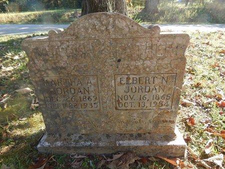 JORDAN, ELBERT N - Campbell County, Tennessee | ELBERT N JORDAN - Tennessee Gravestone Photos