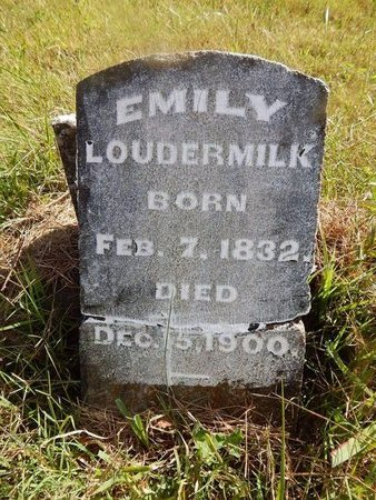 TAYLOR LOUDERMILK, EMILY - Campbell County, Tennessee | EMILY TAYLOR LOUDERMILK - Tennessee Gravestone Photos