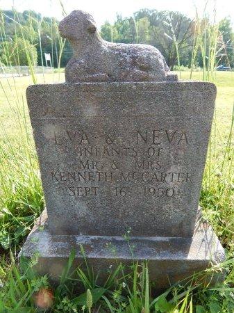 MCCARTER, NEVA - Campbell County, Tennessee | NEVA MCCARTER - Tennessee Gravestone Photos
