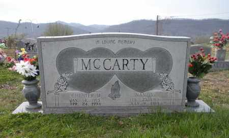 MCCARTY, CHESTER M - Campbell County, Tennessee | CHESTER M MCCARTY - Tennessee Gravestone Photos