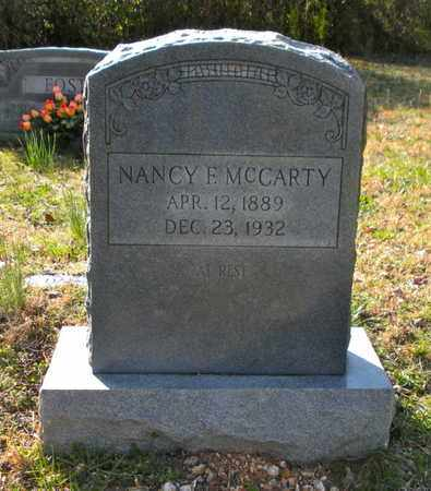 MCCARTY, NANCY F - Campbell County, Tennessee | NANCY F MCCARTY - Tennessee Gravestone Photos