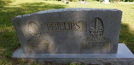 PHILLIPS, JOHN (REVEREND) - Campbell County, Tennessee | JOHN (REVEREND) PHILLIPS - Tennessee Gravestone Photos