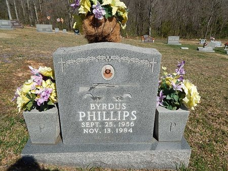 PHILLIPS, BYRDUS - Campbell County, Tennessee | BYRDUS PHILLIPS - Tennessee Gravestone Photos