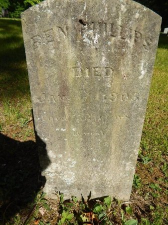 PHILLIPS, BEN - Campbell County, Tennessee | BEN PHILLIPS - Tennessee Gravestone Photos