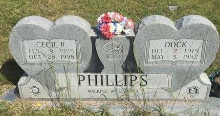 PHILLIPS, CECIL R - Campbell County, Tennessee | CECIL R PHILLIPS - Tennessee Gravestone Photos