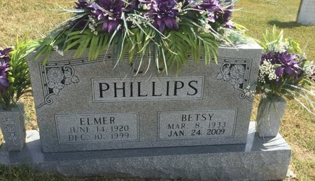 PHILLIPS, ELMER - Campbell County, Tennessee | ELMER PHILLIPS - Tennessee Gravestone Photos