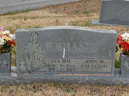 PHILLIPS, EVA MAE - Campbell County, Tennessee | EVA MAE PHILLIPS - Tennessee Gravestone Photos